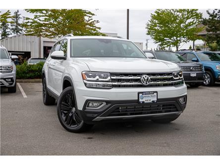 2019 Volkswagen Atlas 3.6 FSI Execline (Stk: KA592291) in Vancouver - Image 1 of 28