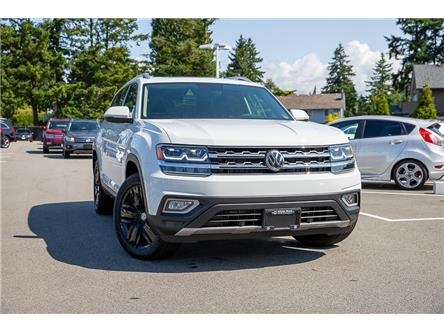 2019 Volkswagen Atlas 3.6 FSI Highline (Stk: KA595773) in Vancouver - Image 1 of 30