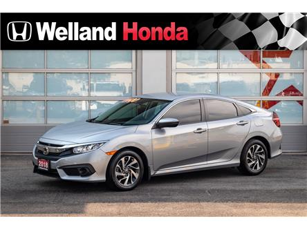 2018 Honda Civic SE (Stk: U19031) in Welland - Image 1 of 13