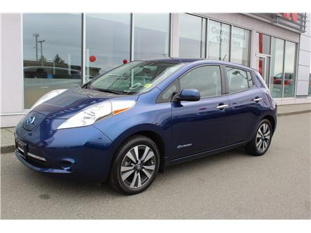 2017 Nissan LEAF SV (Stk: P0222) in Nanaimo - Image 1 of 9