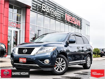 2016 Nissan Pathfinder SL (Stk: 19627A) in Barrie - Image 1 of 28