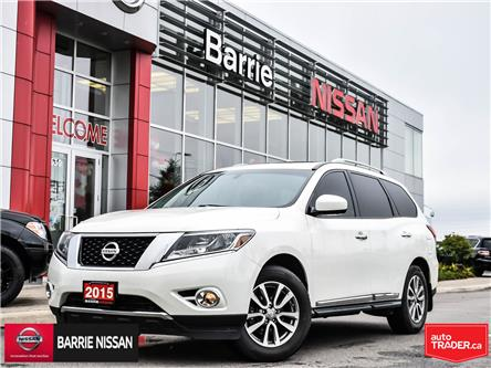 2015 Nissan Pathfinder SL (Stk: 19519A) in Barrie - Image 1 of 28