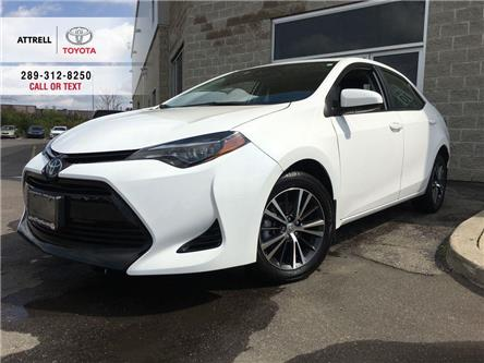 2018 Toyota Corolla LE UPGRADE PKG SUNROOF, ALLOY WHEELS, FOG LAMPS, H (Stk: 45270A) in Brampton - Image 1 of 27