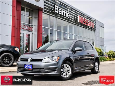 2017 Volkswagen Golf 1.8 TSI Trendline (Stk: P4573A) in Barrie - Image 1 of 20