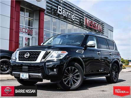2019 Nissan Armada Platinum (Stk: 19081) in Barrie - Image 1 of 27