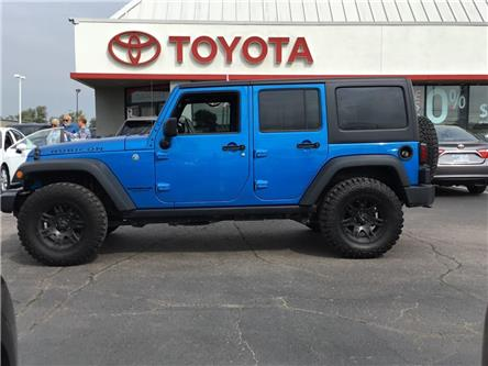 2016 Jeep Wrangler Unlimited Rubicon (Stk: 1909481) in Cambridge - Image 1 of 25