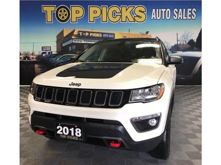 2018 Jeep Compass Trailhawk (Stk: 412499) in NORTH BAY - Image 1 of 29