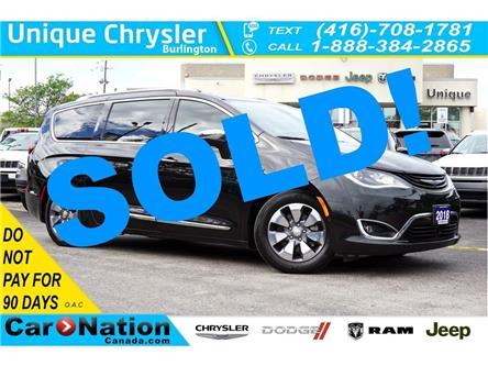 2018 Chrysler Pacifica Hybrid LIMITED| SAFETYTEC GRP| UCONNECT THEATRE| (Stk: K861A) in Burlington - Image 1 of 50