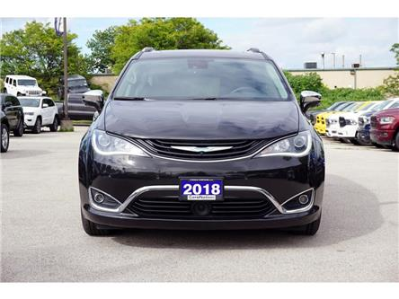 2018 Chrysler Pacifica Hybrid LIMITED| SAFETYTEC GRP| UCONNECT THEATRE| (Stk: K861A) in Burlington - Image 2 of 50