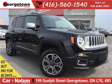 2015 Jeep Renegade Limited   4X4   LEATHER   BU CAM BLU TOOTH ALLOYS (Stk: GSP166) in Georgetown - Image 1 of 27