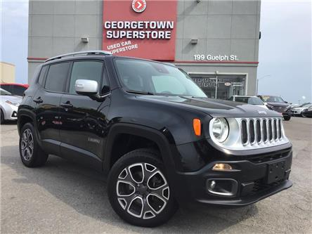 2015 Jeep Renegade Limited   4X4   LEATHER   BU CAM BLU TOOTH ALLOYS (Stk: GSP166) in Georgetown - Image 2 of 27