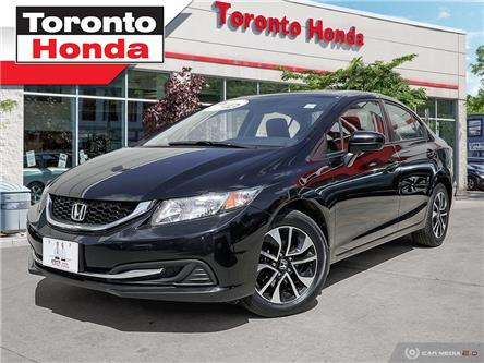 2015 Honda Civic EX (Stk: 39330) in Toronto - Image 1 of 30