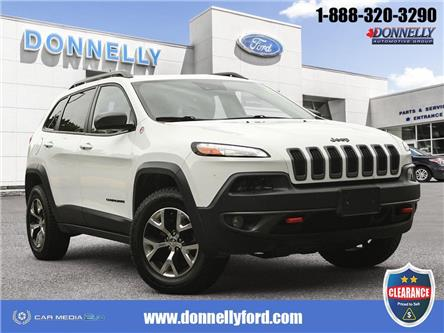 2015 Jeep Cherokee Trailhawk (Stk: CLDU6212) in Ottawa - Image 1 of 28
