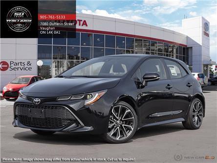 2019 Toyota Corolla Hatchback SE Upgrade Package (Stk: 69255) in Vaughan - Image 1 of 24