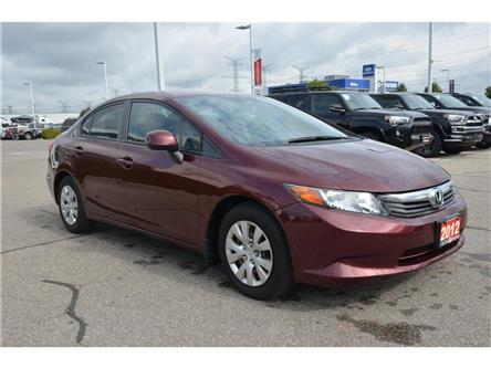 2012 Honda Civic LX (Stk: 012243) in Milton - Image 2 of 16