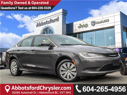 2015 Chrysler 200 LX (Stk: K558710A) in Abbotsford - Image 1 of 25