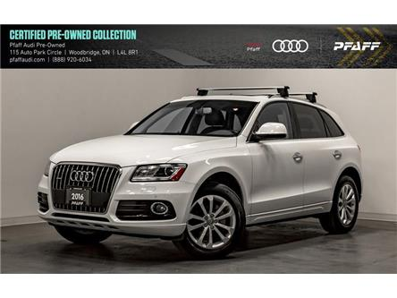 2016 Audi Q5 2.0T Progressiv (Stk: C7068) in Woodbridge - Image 1 of 22