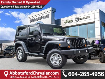 2013 Jeep Wrangler Sport (Stk: K822749A) in Abbotsford - Image 1 of 26