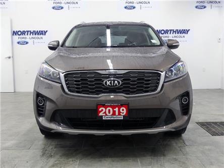 2019 Kia Sorento EX | AWD | HTD LEATHER | PUSH START | 3 ROW | (Stk: DR410) in Brantford - Image 2 of 43