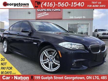2013 BMW 535i xDrive | LEATHER | NAVI | ROOF | BU CAM | M PKG (Stk: GSP165A) in Georgetown - Image 1 of 32