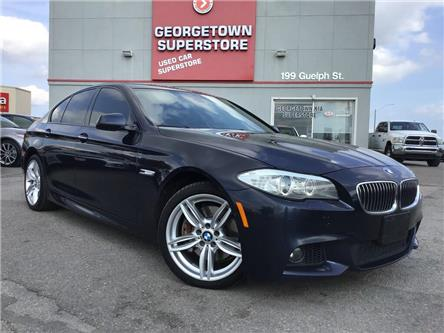 2013 BMW 535i xDrive | LEATHER | NAVI | ROOF | BU CAM | M PKG (Stk: GSP165A) in Georgetown - Image 2 of 32