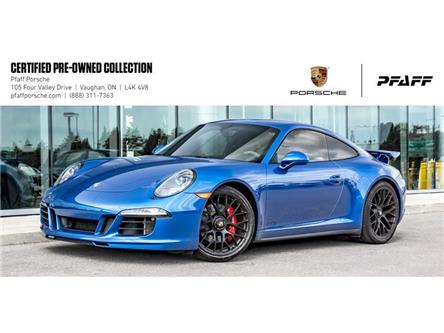 2015 Porsche 911 Carrera Coupe GTS PDK (Stk: P14505AA) in Vaughan - Image 1 of 21
