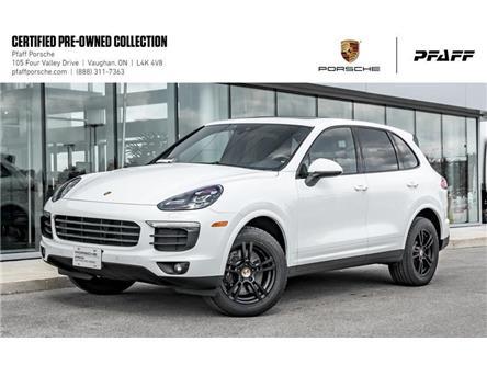 2017 Porsche Cayenne Platinum Edition (Stk: U8096) in Vaughan - Image 1 of 22