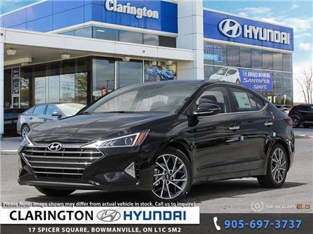 2020 Hyundai Elantra Luxury (Stk: 19696) in Clarington - Image 1 of 24