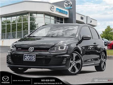 2015 Volkswagen Golf GTI 3-Door Performance (Stk: 19-0773A) in Mississauga - Image 1 of 25