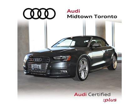 2016 Audi S5 3.0T Technik (Stk: P7422) in Toronto - Image 1 of 28