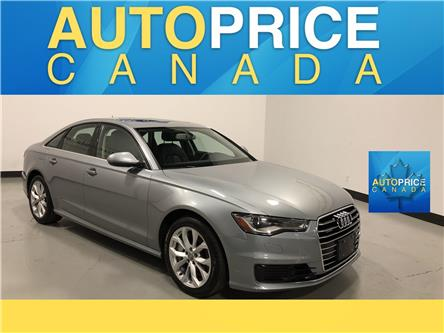 2016 Audi A6 2.0T Progressiv (Stk: W0589) in Mississauga - Image 1 of 25
