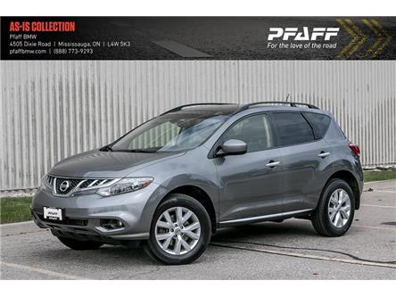 2013 Nissan Murano SL (Stk: U5506A) in Mississauga - Image 1 of 22