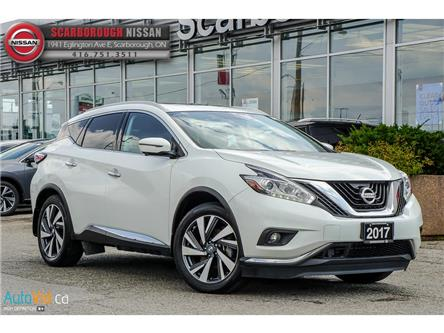 2017 Nissan Murano  (Stk: L19020A) in Scarborough - Image 1 of 28