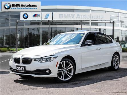 2017 BMW 330i xDrive Sedan (8D97) (Stk: P9149) in Thornhill - Image 1 of 31
