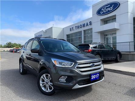 2017 Ford Escape SE (Stk: A6866A) in St. Thomas - Image 1 of 24