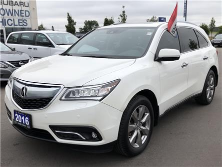 2016 Acura MDX Elite Package (Stk: 20SB007A) in Innisfil - Image 1 of 20