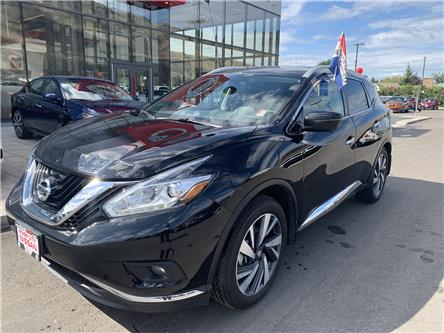2018 Nissan Murano Platinum (Stk: T19303A) in Kamloops - Image 1 of 28
