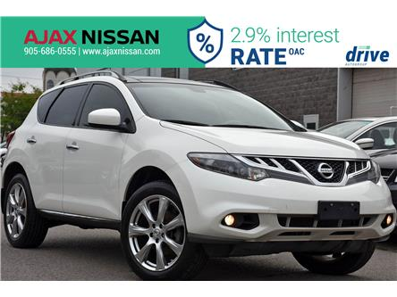 2014 Nissan Murano Platinum (Stk: U081A) in Ajax - Image 1 of 36