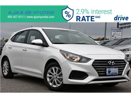 2019 Hyundai Accent Preferred (Stk: P4801R) in Ajax - Image 1 of 30