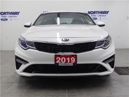 2019 Kia Optima LX+ | HTD SEATS+WHEEL | PUSH START | BACKUP CAM | (Stk: DR408) in Brantford - Image 2 of 40