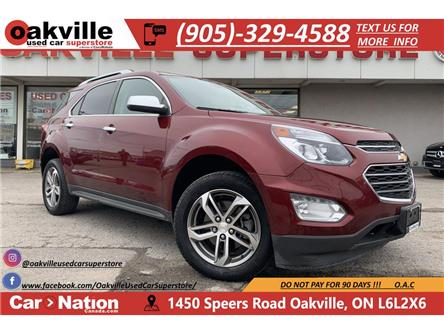 2016 Chevrolet Equinox LTZ | LEATHER | SUNROOF | NAVI | B/U CAM (Stk: P12539) in Oakville - Image 1 of 22