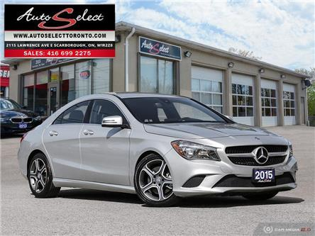 2015 Mercedes-Benz CLA-Class 4Matic (Stk: 1M96ZV2) in Scarborough - Image 1 of 28