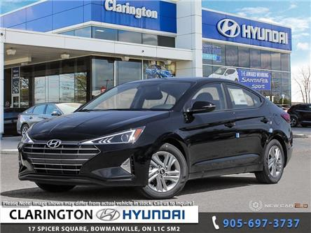 2020 Hyundai Elantra Preferred w/Sun & Safety Package (Stk: 19716) in Clarington - Image 1 of 24