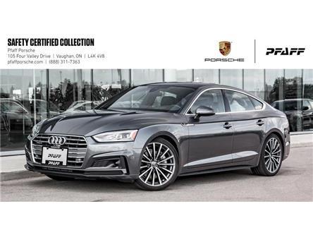 2018 Audi A5 Sportback 2.0T Technik quattro 7sp S Tronic (Stk: U8185) in Vaughan - Image 1 of 22