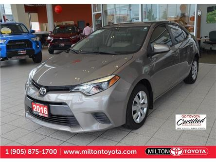 2016 Toyota Corolla  (Stk: 570596A) in Milton - Image 1 of 25