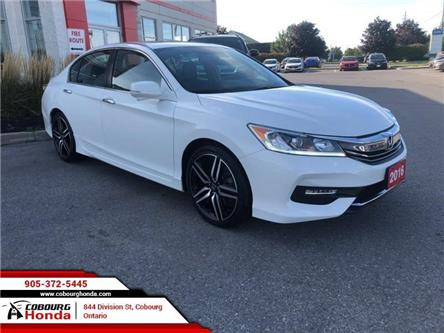 2016 Honda Accord Sport (Stk: U1822A) in Cobourg - Image 1 of 20