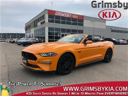 2018 Ford Mustang GT Premium (Stk: U1728) in Grimsby - Image 1 of 24