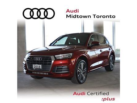 2018 Audi Q5 2.0T Progressiv (Stk: P7425) in Toronto - Image 1 of 30