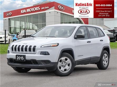 2015 Jeep Cherokee Sport (Stk: SL20031A) in Mississauga - Image 1 of 28