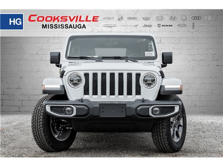 2020 Jeep Wrangler Unlimited Sahara (Stk: LW109645) in Mississauga - Image 2 of 18